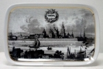 Вид города Твери с литографии 1836 года