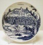 Вид города Торжка с гравюры 17 века.